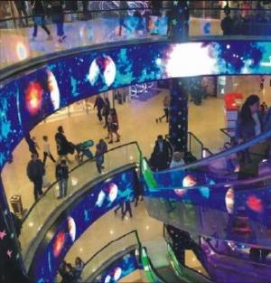 LED экраны внутри помещения